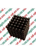 Неокуб Іграшка (сірий нікель) 216 кульок