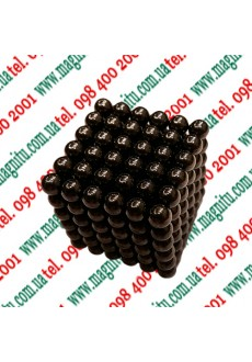 Фото: Неокуб Іграшка (сірий нікель) 216 кульок