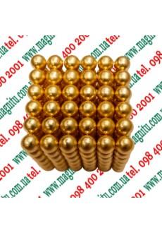 Фото: Неокуб Іграшка  (Золото) 216 кульок